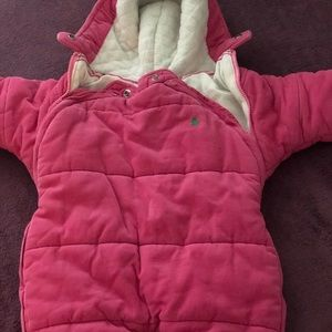 Polo snow suit